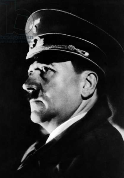 Adolf Hitler, 1939 (b/w photo)