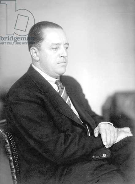 Ludwig Mies van der Rohe, c.1930 (b/w photo)