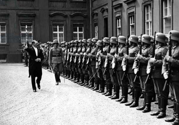 Adolf Hitler, 1935 (b/w photo)