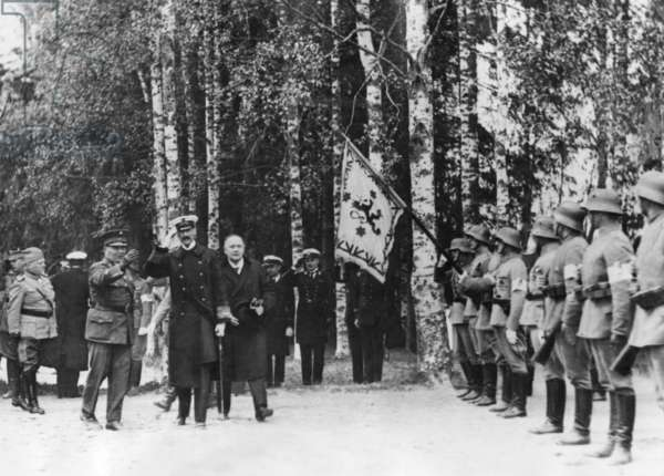 Haakon VII, King of Norway (b/w photo)