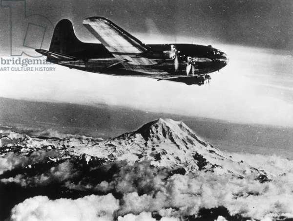 Boeing 307, 1940 (b/w photo)