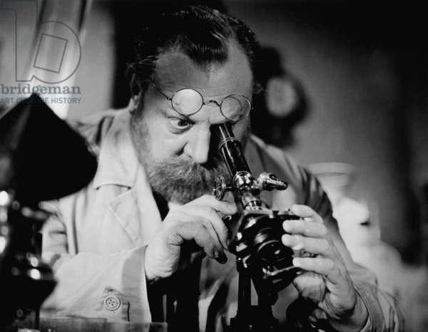 Emil Jannings in the film 'Robert Koch', 1939 (b/w photo)