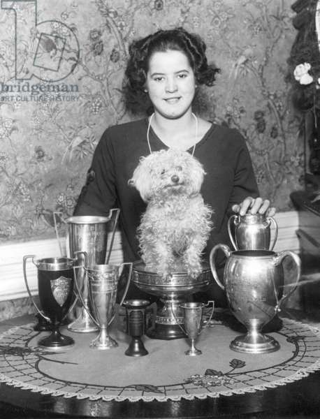 Gertrud Ederle, 1926 (b/w photo)