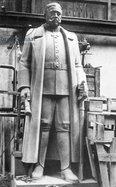 The Tannenberg Memorial, 1936 (b/w photo)