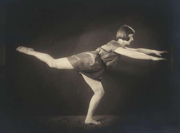 Gymnastics, 1927 (b/w photo)