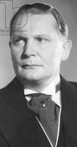 Portrait of Hermann Göring, 1936 (b/w photo)