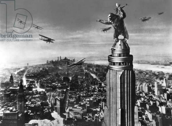 King Kong (b/w photo)
