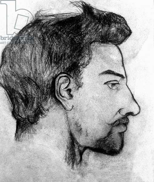 Maurice Utrillo, 1910 (charcoal on paper)