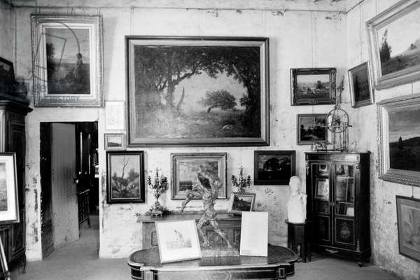 Workshop studio of French painter Jean-Francois Millet in Barbizon, he died here in 1875
