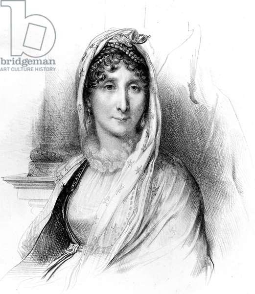 Letizia Bonaparte (1750-1836) mother of Napoleon 1st, engraving