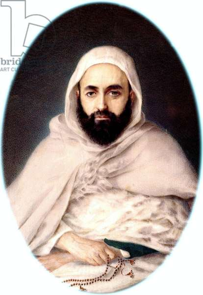 Portrait of Emir Abd-el-Kader, 1852