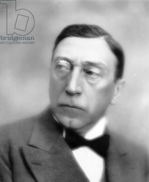 """French actor Andre Lefaur (1879-1952) in play """"Monsieur Brotonneau"""" in the late 20's"""