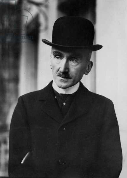 French philosopher Henri Bergson (1859-1941) literature Nobel Prize in 1927