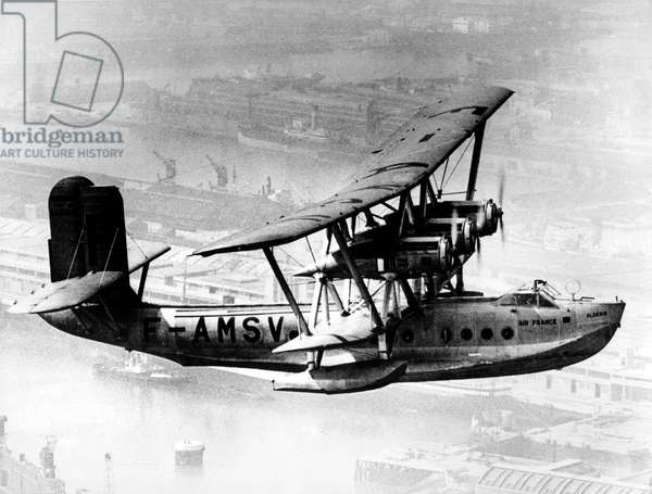 Seaplane Breguet 530 Saigon, Air France airways, used from 1935