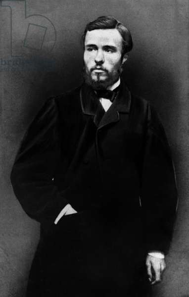 Georges Clemenceau (1841-1929) French journalist and politician, head of government in 1906-1909 et 1917-1920, here in 1869
