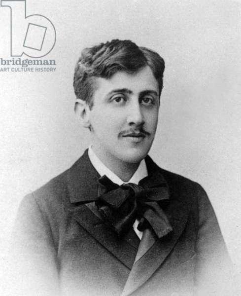 Marcel Proust (1871-1922) French novelist c. 1892