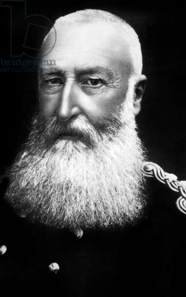 Leopold II (1835-1909) king of Belgians in 1865-1909