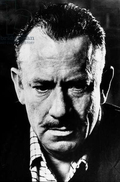 John Steinbeck (1902-1968) american novelist, Litterature Nobel Prize in1962