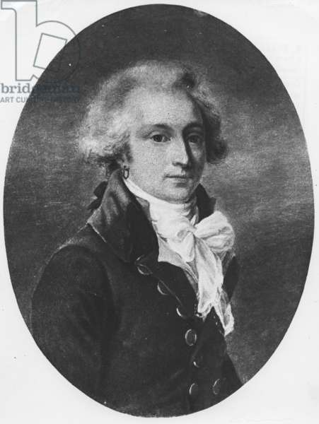 The Viscount Alexandre de Beauharnais (1760 1794) general of the Armee of the Rhine 1760 1794 first husband of Josephine de Beauharnais