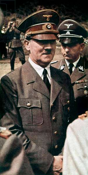 Adolf Hitler, nazi leader of 3rd Reich, here during ww2