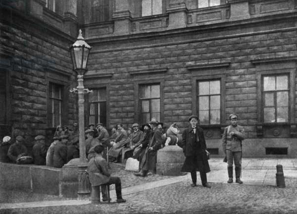 After russian revolution, bourgeoisie is under watch, september 1918