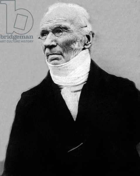 The Rev. Patrick Bronte (b/w photo)