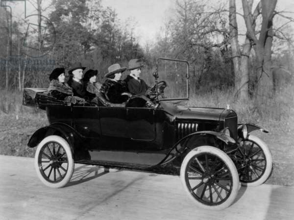 Car Ford T in 1927