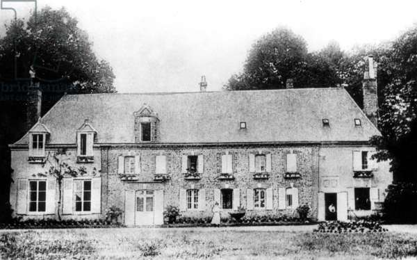 Tansonville castle in Illiers (France) where lived Marcel Proust , and which inspired him the name for Swann's house