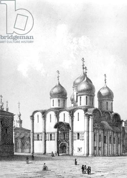 Assumption cathedral built in 1326 of the Kremlin