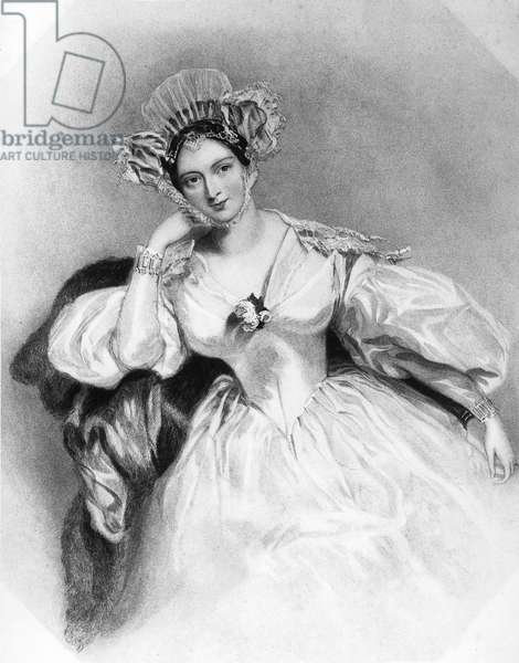Marguerite countess of Blessington (1789-1849) english woman of letters, engraving