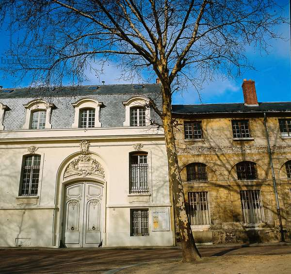 Former townhouse of Madame du Barry in Paris where she was arrested in 1793 during the French revolution, France