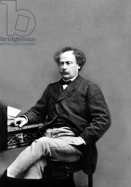 Alexandre Dumas the younger (1824-1895) French writer c. 1860