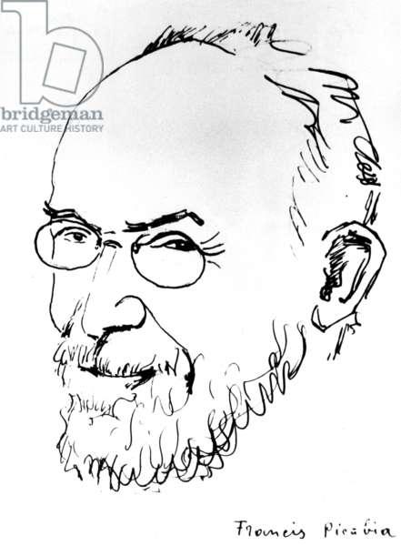 Erik Satie (litho)
