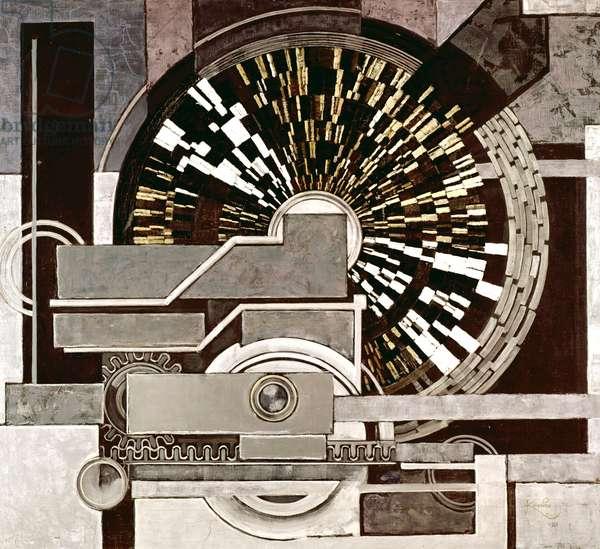 Jazz Hot, 1935 (oil on canvas)