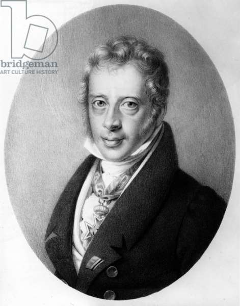 Jacob de Rothschild, c.1822 (litho)