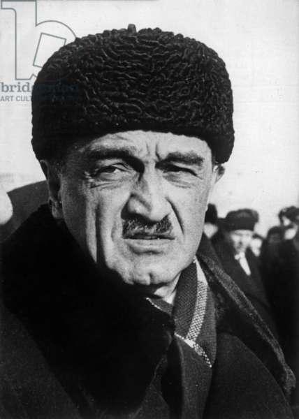 Anastas Ivanovitch Mikoyan (1895-1978) soviet politician