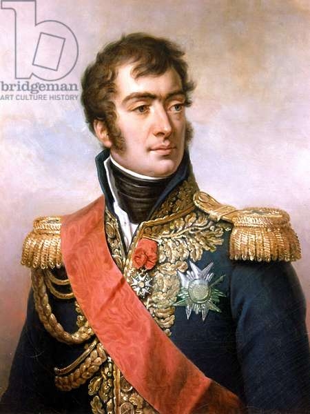 Auguste Frederic Louis Viesse de Marmont, 1834 (oil on canvas)