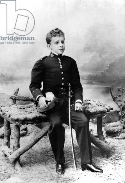 Don Alfonso XIII (1886-1941) king of Spain in 1886-1931, here as a child c. 1896