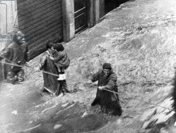 Floods in Florence, Italy, november 4, 1966