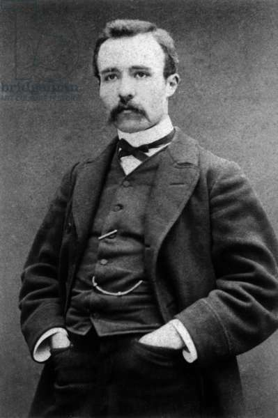Georges Clemenceau (1841-1929) French journalist and politician, head of government in 1906-1909 et 1917-1920, c. 1875