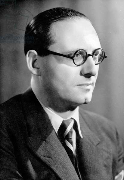 French politician Pierre Pucheu (1899-1944) member of the PPF (French Populist Party), minister of Interior under the Vichy government, he supported the SPAC (AntiCommunist Police) and actively collaborated with the german, he later changed sides but was finally arrested in Morocco may 1943
