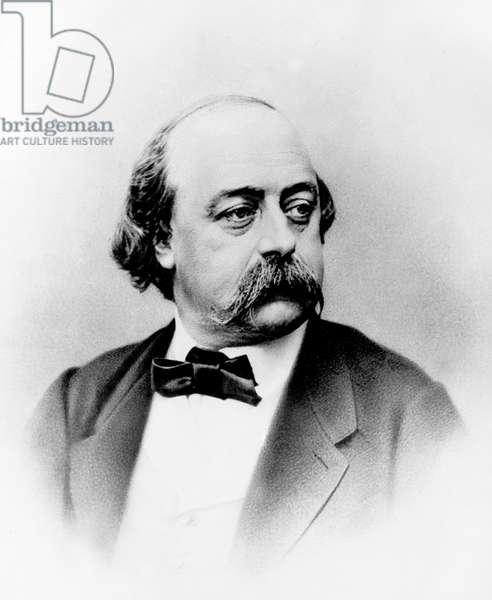 Gustave Flaubert (1821-1880) French writer c. 1875, photo by Nadar