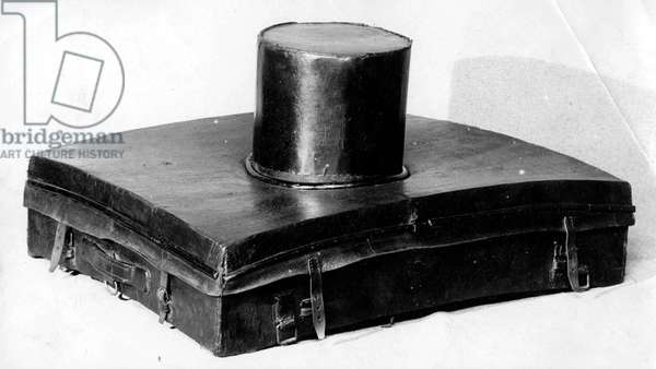 Louis Vuitton trunk made for top hat c. 1900