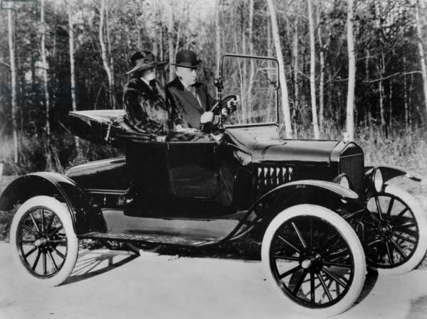 Car Ford T in 1923
