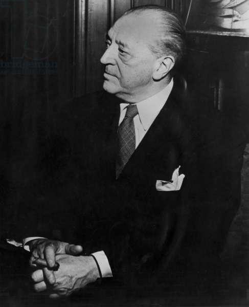 Mies van der Rohe (b/w photo)