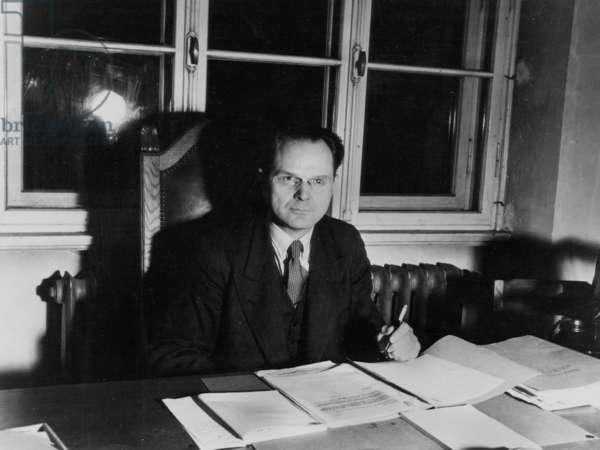 One of Deputy judges of Nuremberg trial (1945-1946) : general Iona Nikitchenko (Russia)