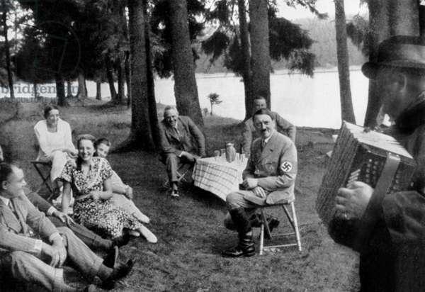 Adolf Hitler in Braunschveig, Germany in 1936