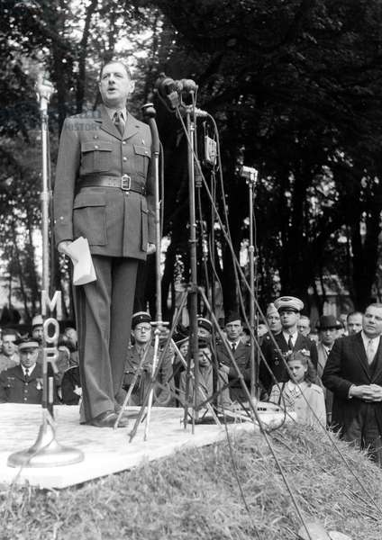 Speech of General Charles de Gaulle in Bayeux (France) on june 16, 1946