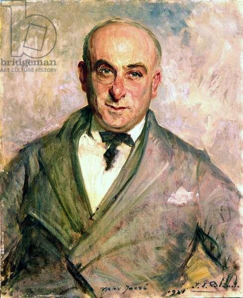 Max Jacob, 1921 (oil on canvas)