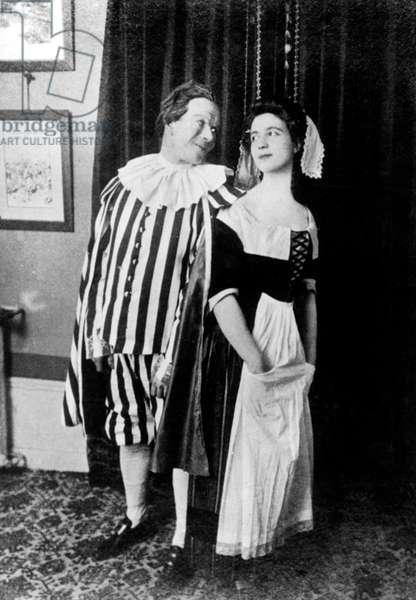 Georges Bertrand and Francoise de Beauvoir , Simone de Beauvoir's parents